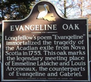 Évangéline à St Martinville